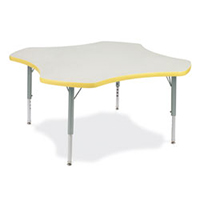 Virco Clover Activity Table