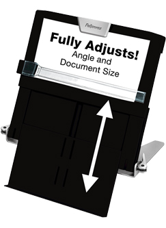 adjustable document holder
