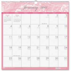 House of Doolittle Breast Cancer Awareness Wall Calendar