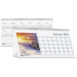 House of Doolittle Scenes Desktop Tent Calendar